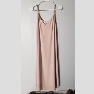 Aritzia Babaton Templeton Dress in Nude
